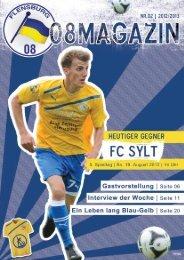Informationen zu unseren Mannschaften und zum ... - Flensburg 08