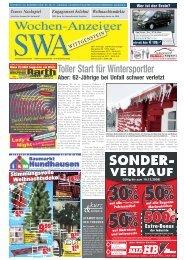 Ausgabe D, Wittgenstein - Siegerländer Wochen-Anzeiger