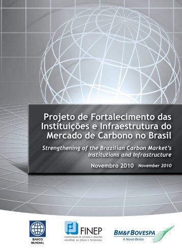 Projeto de Fortalecimento das Instituições e ... - BM&FBovespa