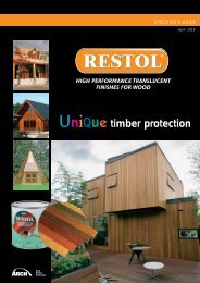 restol - Arch Timber Protection