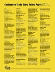 Conference Trade Show Yellow Pages Judith Manley,