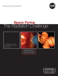 Space Faring: The Radiation Challenge - NASA