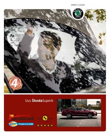 Superb mudeli-ja lisavar. kataloog EST - Aasta Auto