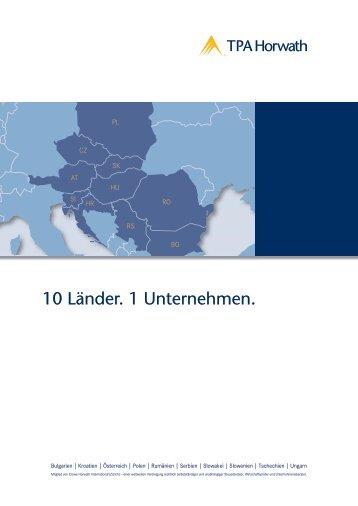 10 Länder. 1 Unternehmen. - TPA Horwath