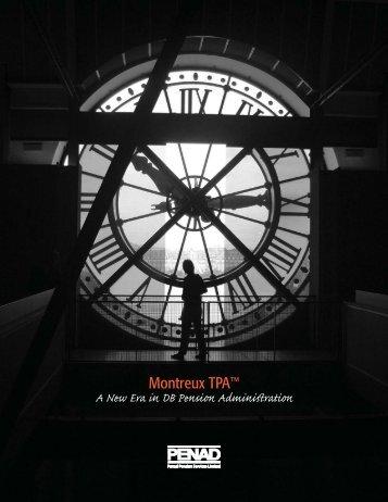 Montreux TPA™ - Penad Pension Services Limited