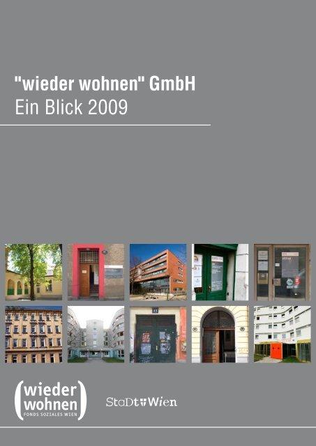 wieder wohnen - Fonds Soziales Wien