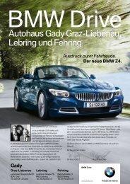 Der neue BMW Z4. - Gady