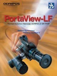 Portaview-LF Tracheal Intubation Fiberscope (LF-GP,LF-TP,LF-DP ...