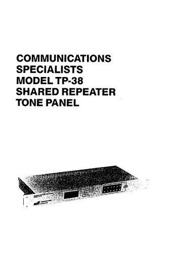 VXR-5000 UHF Repeater Manual Chapter 6 Block Diagrams