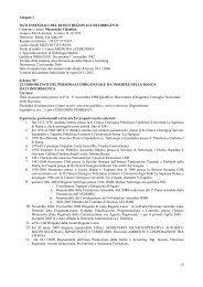 dati essenziali del ruolo regionale dei dirigenti - Regione Lazio