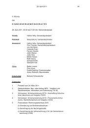 28. April 2011 34 5. Sitzung des ... - SVP Thal-Gäu