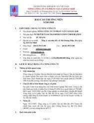 báo cáo thường niên năm 2010 - Công ty Chứng khoán Mê Kông