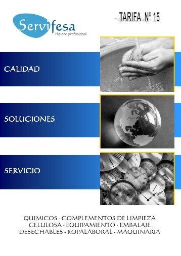 Descarga aquí nuestro catalogo de productos nº 15
