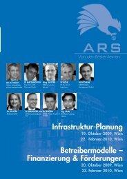 Infrastruktur-Planung 19. Oktober 2009, Wien 22. Februar 2010, Wien