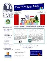 November 2012 Newsletter (PDF) - Centre Village Mall