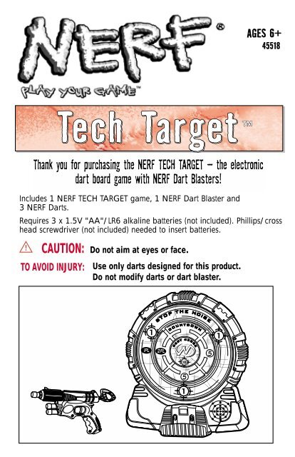 Nerf n-strike tech target review youtube.