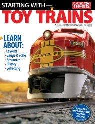 LEARN ABOUT: - Classic Toy Trains Magazine - Trains.com