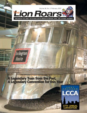 A Legendary Train from the Past, A Legendary Convention for this ...