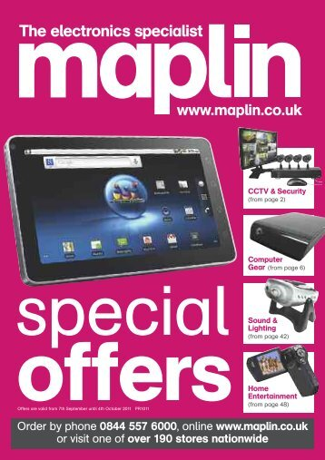 P10 section 1 - Maplin Electronics