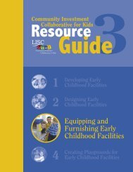 Equipping and Furnishing Early Childhood Facilities - The American ...