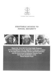 Report No. 18 of 2011/2012 of the - Public Protector South Africa