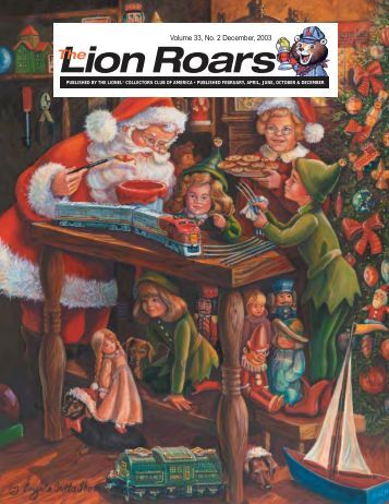 Volume 33, No. 2 December, 2003 - Lionel Collectors Club of America