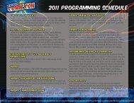 2011 programming schedule - New York Comic Con