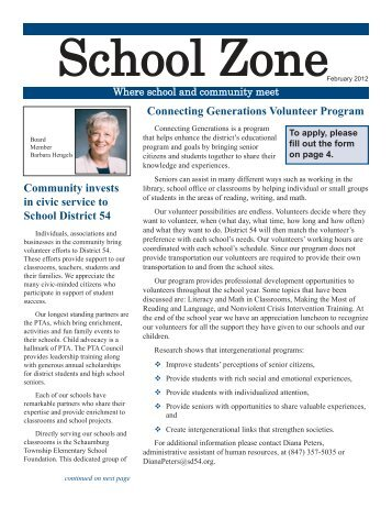 School Zone - February 2012_Layout 1 - School District 54
