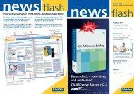 zuverlässig und umfassend: CA ARCserve Backup r12 ... - Tech Data