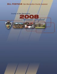 Annual Report - San Bernardino County