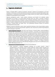 Pobierz ten rozdział - Raport roczny Grupy BRE Banku - BRE Bank
