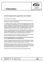 Information - Bayerischer Jugendring