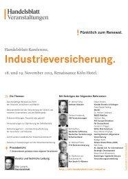 Industrieversicherung.