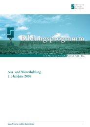 Kontakt und Anmeldung - Deutsche Makler Akademie