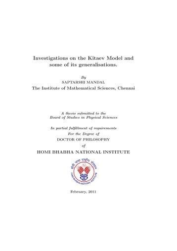 hbni phd thesis