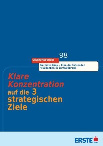 Klare Konzentration - Erste Group