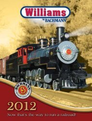 2012 Williams by Bachmann Catalog
