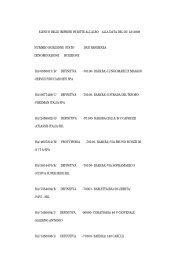 elenco delle imprese iscritte all'albo alla data del ... - Provincia di Bari
