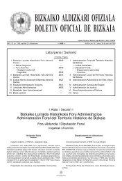 bizkaiko aldizkari ofiziala boletin oficial de bizkaia - Arrieta
