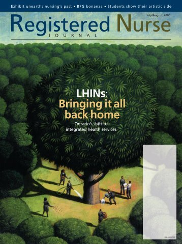 lhins: bringing it all back home - Registered Nurses' Association of ...