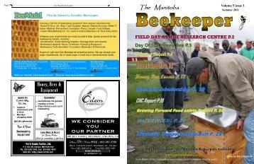 Summer 2011 newsletter - Manitoba Beekeepers' Association