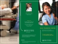Patient Transfer Brochure - Rush University Medical Center