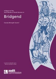 Bridgend - Social Services Improvement Agency