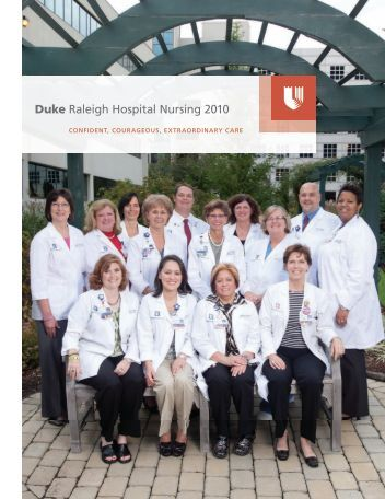 Duke Raleigh Hospital Nursing 2010