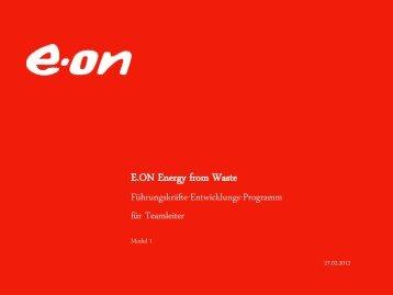 E.ON Energy from Waste Führungskräfte-Entwicklungs-Programm ...