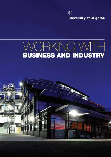 Working with business and industry - Staffcentral - University of ...