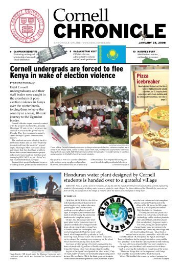 continued from page 1 - Cornell University News Service