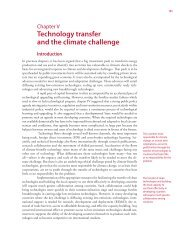 Technology transfer and the climate challenge Introduction