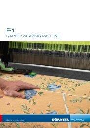 rapier weaving machine - Lindauer DORNIER GmbH