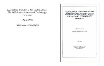 Technology Transfer to the United States - Federation of American ...